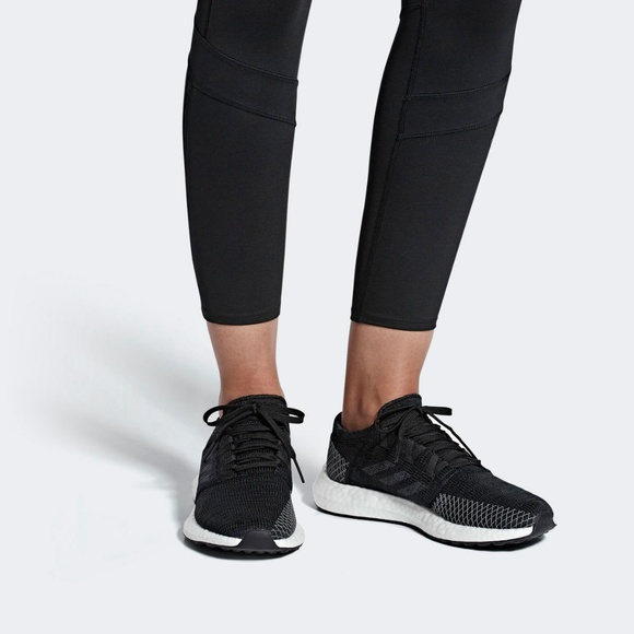 0a5444046bbf74 adidas Shoes - adidas PureBoost X Element Knit Running Shoes